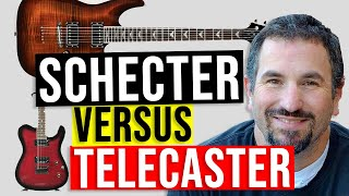 Shecter Diamond C Series Versus Fender Telecaster (Made in Mexico)