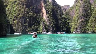Ilhas Ko Phi Phi - Tailândia - Filme 'A Praia' com Leonardo Di Caprio 'The Beach'