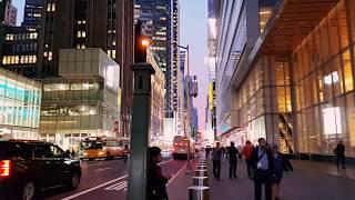 Walking around Midtown Manhattan
