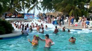 Vacations in the Caribbean beach, Punta Cana, Republica Dominicana, Be Live resort