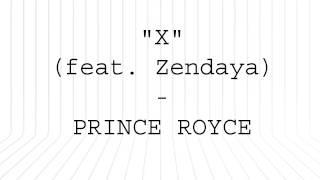 Prince Royce - X (Letra Oficial) ft. Zendaya