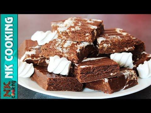 Шоколадный Фадж с Маршмелоу ? Нереально Вкусно ? Рецепты NK cooking