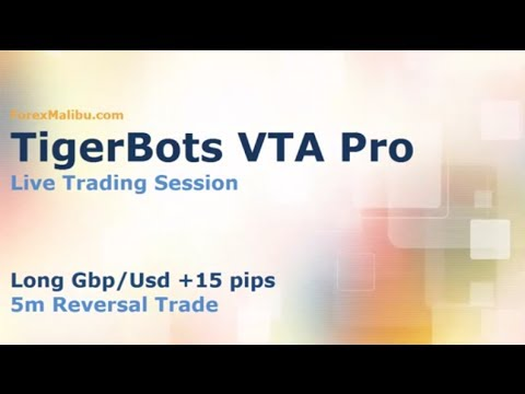 VTA PRO Forex Day Trading Software - Live Trade +15 pips!