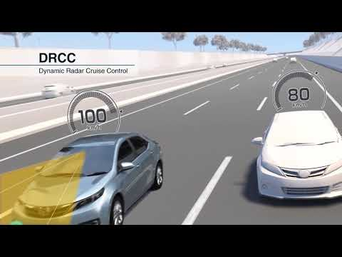 2018 Toyota Safety Sense: Dynamic Radar Cruise Control