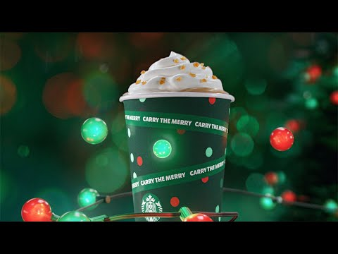 Sleigh this holiday with a Starbucks® Caramel Brulée Latte