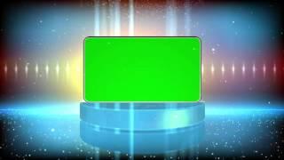 Efeito Progama de TV #1 - Slideshow #1 [Fundo Verde - Chroma Key]