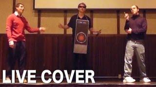 LIVE COVER #3: Bill Gates vs. Steve Jobs - Epic Rap Battle of History