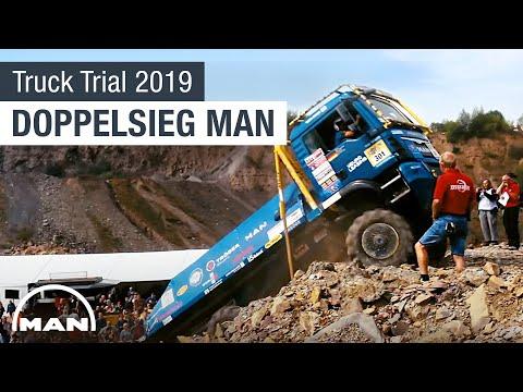 Doppelsieg für MAN bei der Europa Truck Trial 2019!