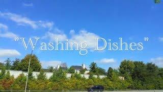 Washing Dishes (Lyrics Music Video) - Jack Johnson