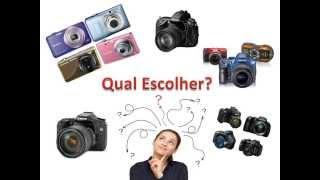 Máquina fotográfica qual escolher? | DSLR x Câmera Digital |