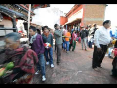Manakamana Nepal Маникамана Непал жертво.AVI