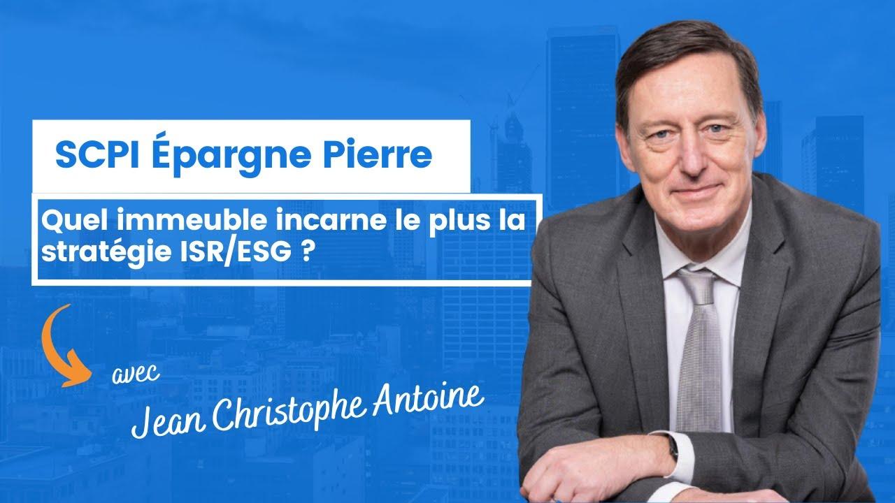 Quel immeuble incarne le plus la stratégie ISR/ESG d'Épargne Pierre ?