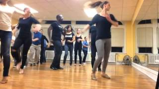 Salsa y Control Footwork Challenge Class Boston