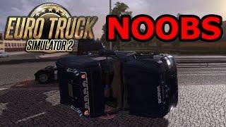 Euro Truck Simulator 2 Online Noobs.