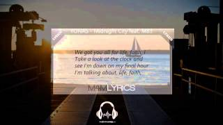 YONAS - Midnight City feat. M83   Lyrics