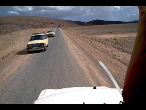 Morocco open air taxi