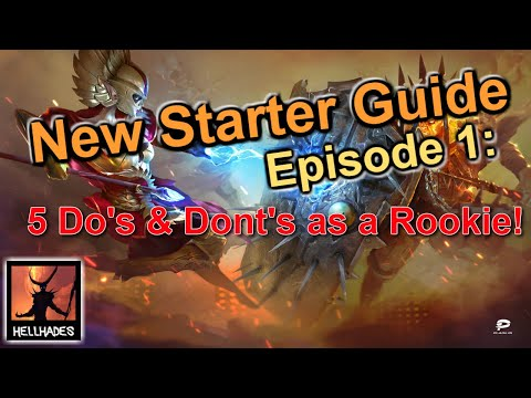 RAID: Shadow Legends | New Starter Guide Episode 1: Do's & Dont's, top tips & initial run through