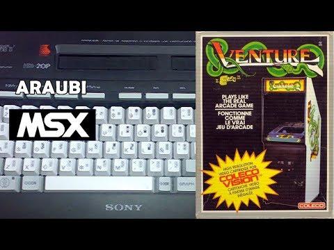 Exidy's Venture (GDX, 2012) MSX [266] Walkthrough Comentado