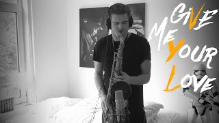 Sigala feat. John Newman - Give Me Your Love (Saxophone Cover)