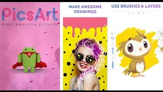 Make Awesome Painting in your smartphone - PicsArt Color Paint