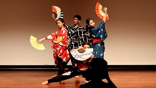 ★JCN2017 Japanese Cultural Night - NUS Nihon Buyo - Japanese Dance - Senbonzakura 1of4 [HD]