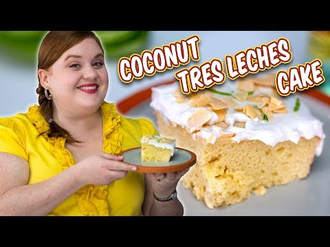 Elise Tells Us the Secrets to an Easy Coconut Tres Leche Cake| Smart Cookie | Allrecipes.com