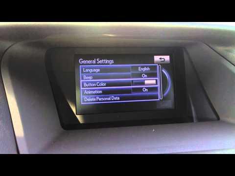 Lexus RX350 Button Color Review