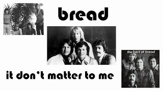 It Don't Matter To Me ♥♥♥ Bread ♥♥♥ (1969) ♥♥♥ HD