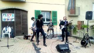 The Buskers street band - Proud Mary (CCR  cover) live Camino agricola Dellavalle