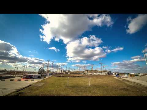 Welcome to Aspern City - Kranensee Timelapse