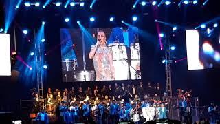 Los Ángeles Azules - El Listón De Tu Pelo ft. María José - Palacio De Los Deportes 2018