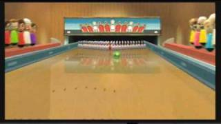 Wii Sports Resort ~ Bowling: 100-Pin Game
