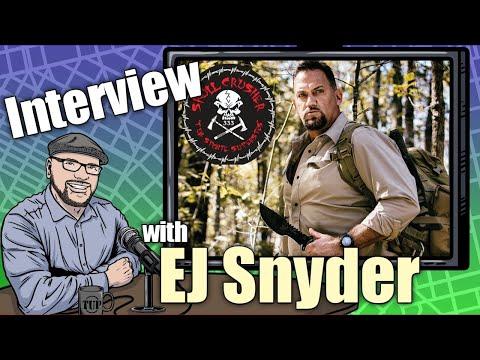 """TUP Talks #8: EJ """"Skullcrusher"""" Snyder (from Naked & Afraid, Dual Survival)"""