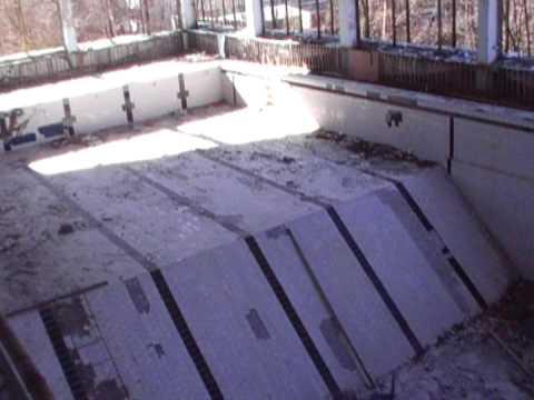 Prypeć – basen wewnątrz