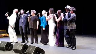 Flight of the Bumble Bee - past Swingle Singers live Sept 2015