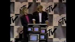 Simon Le Bon & Nick Rhodes presents Best Female Music Video Award (September 14, 1984)