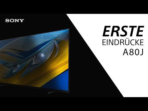 Sony BRAVIA XR A80J Serie ǀ Jetzt entdecken!