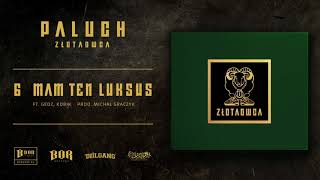 """Paluch """"Mam ten luksus"""" ft.  Gedz, Kobik prod. Michał Graczyk"""