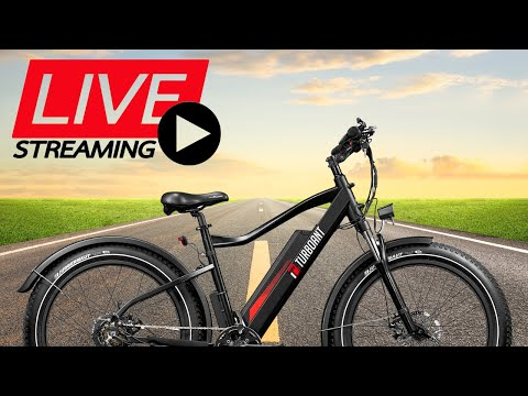 LIVE!  Turboant Thunder Fat Tire Ebike Review