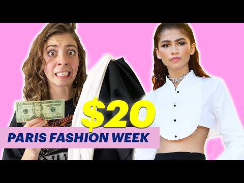 I Thrifted Zendaya's Fashion Week Outfit For Under $20