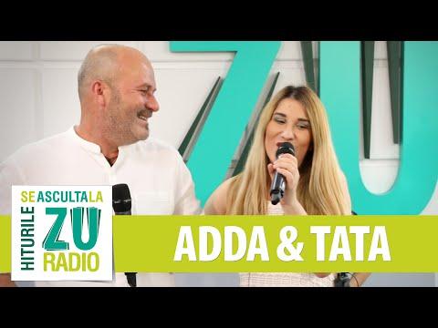 ADDA feat. TATA - Orasul Adormit (Live la Radio ZU)