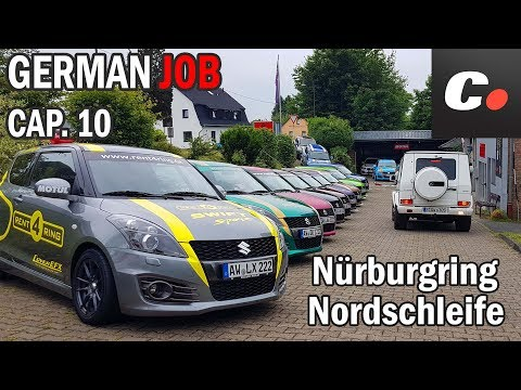 GERMAN JOB Cap. 10 | Nürburgring Nordschleife | coches.net