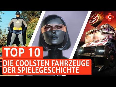 Die coolsten Fahrzeuge der Spielegeschichte   Top 10