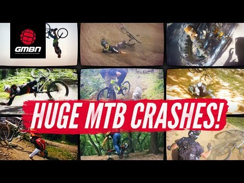 Huge Mountain Bike Crashes | GMBN November Fails And Bails