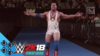 WWE 2K18: Entrada de Kurt Angle