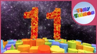 Skip Counting By 11s Song | Counting By 11 | Tiny Tunes