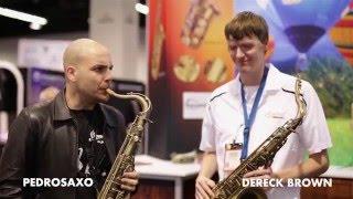Dereck Brown & Pedro Saxo - NAAM show