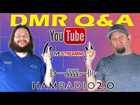 Let's Talk about DMR for Ham Radio!  DMR Livestream