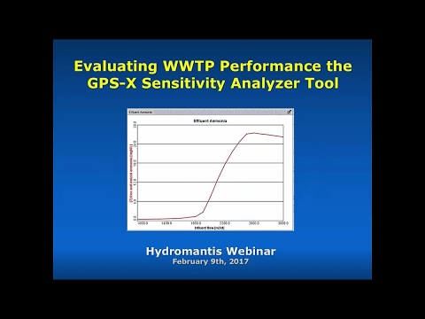Evaluating WWTP Performance with the GPS-X Sensitivity Analyzer Tool