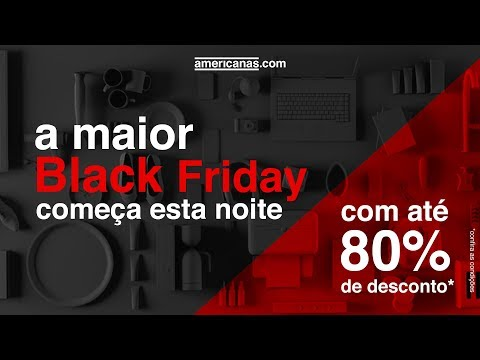 A maior Black Friday do Brasil começa esta noite!